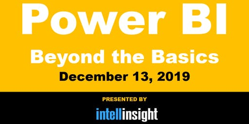 Power BI - Beyond the Basics: Miami, Fort Lauderdale, Palm Beach