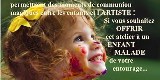 Atelier GRATUIT d'Accompagnement par l'ART Offrir à des enfants malades