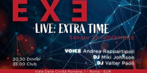 Exe Roma Sabato 23 Novembre 2019 -