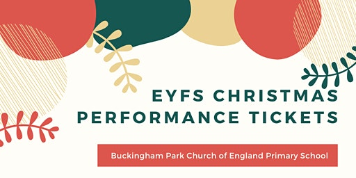 EYFS Christmas Performance - Friday 13th December