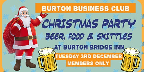 Members Only Monthly Networking Meeting - Burton's Premier Business Club tickets