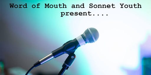 Word of Mouth - Spoken word event in association with Sonnet Youth