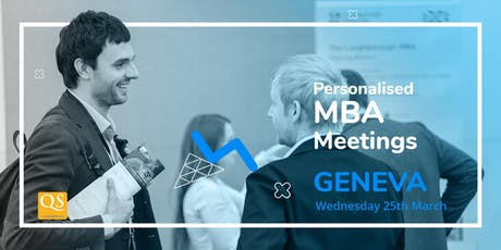 Geneva's International Connect MBA Event-Meet Top Business Schools for FREE tickets