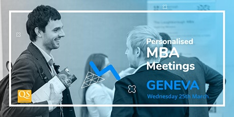 Geneva's International Connect MBA Event-Meet Top Business Schools for FREE billets