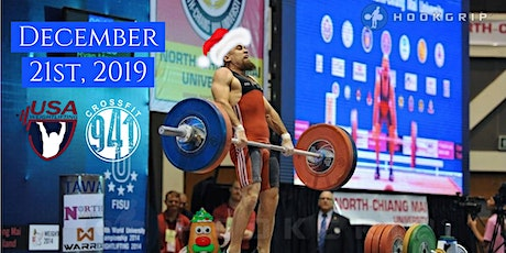 Mushtok Holiday Cup 19 - USAW Sanctioned Weightlifting Meet tickets