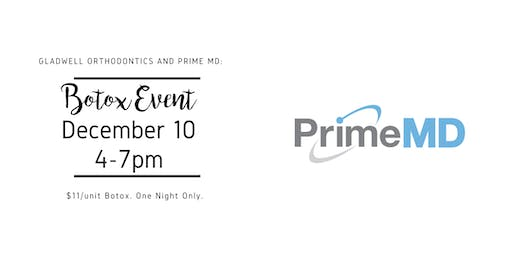 GLO and Botox Event with PrimeMD