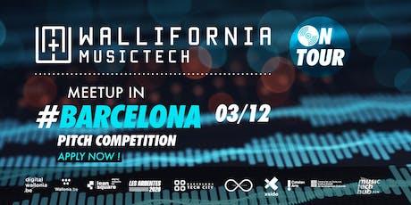 Wallifornia MusicTech On Tour - #1 Barcelona // Startup/VC's meetings tickets