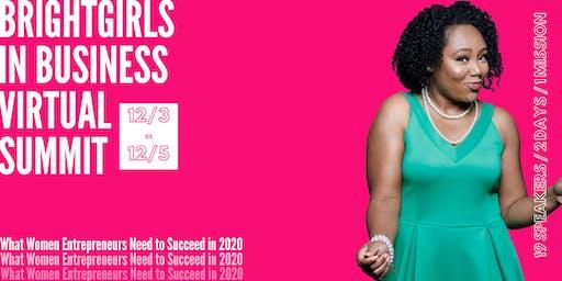 BrightGirls in Business Virtual Summit