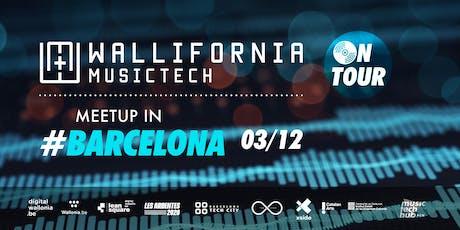 Wallifornia MusicTech On Tour - #1 Barcelona tickets