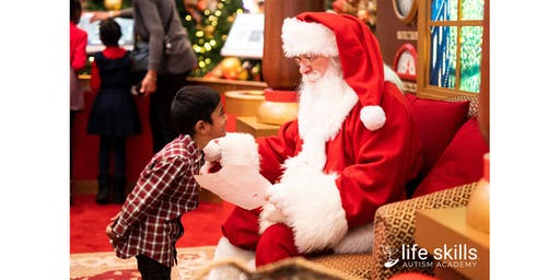 Soothing Santa - Sponsored by Life Skills Autism Academy - Plano, TX