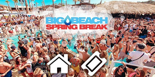 Spring Break BIG BEACH Festival am Zrce Beach / 3,4 & 6 Nächte / Busanreise