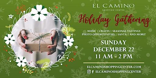 Holiday Gathering at El Camino Shopping Center