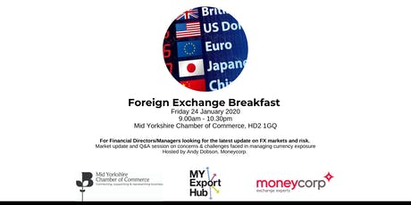 Foreign Exchange Networking Breakfast tickets