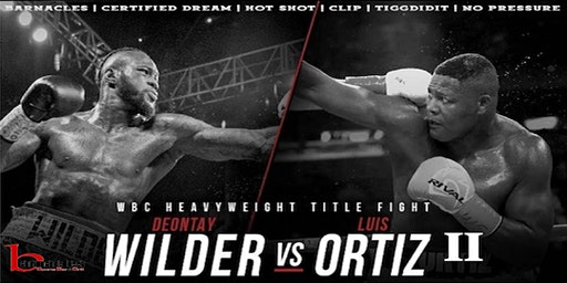 Wilder vs Ortiz II Fight Party @ Barnacles Saturday Night Nov 23rd
