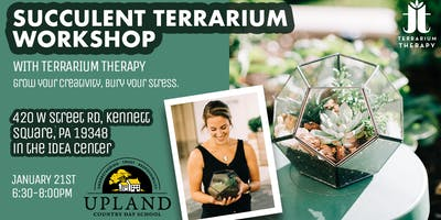 Succulent Pentagon Terrarium Workshop