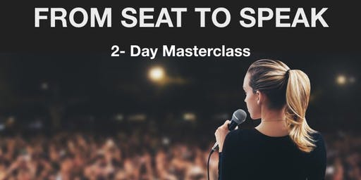 Speak Up 2-Day Masterclass! Develop a confident Presence, craft effective Presentations and become an influential Public Speaker!