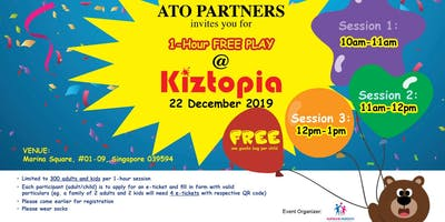 SOLD OUT- Pls click 1 adult + 1 child -1 hour free play @ Kiztopia