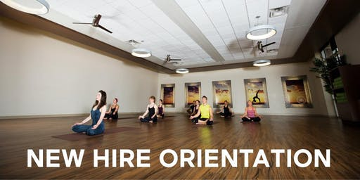 New Hire Orientation - Group Fitness Instructors