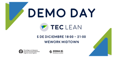 Demo Day_TEC LEAN entradas