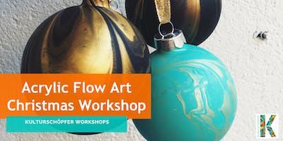 Paint & Pour - Acrylic Flow Art Christmas/Saint Nicholas Day Workshop