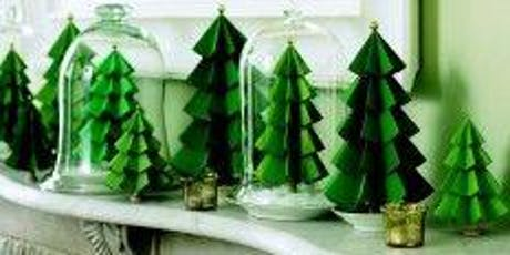 Holiday Craft Making: Paper Trees Workshop tickets
