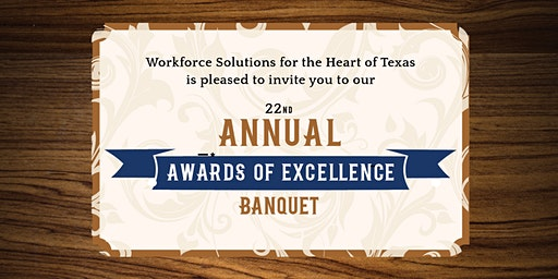 22nd Annual Awards of Excellence Banquet