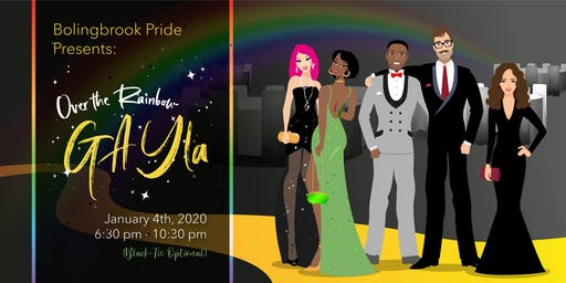 "Bolingbrook Pride's ""Over the Rainbow"" Black Tie Optional GAYla"