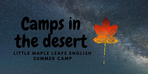 English speaking volunteer camper (7-12) years -Free food and accommodation