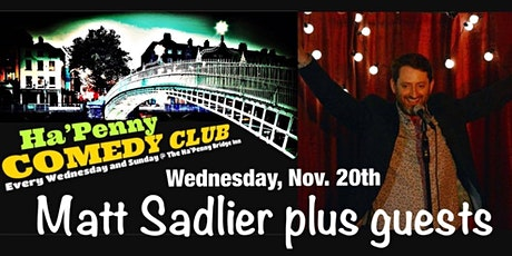 Comedy - Matt Sadlier and Supports tickets