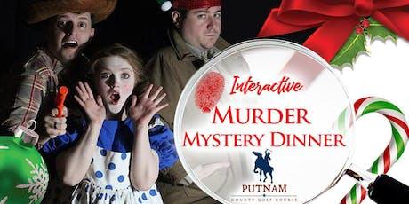 Murder Mystery Dinner & Interactive Theater - Nick Saint Private Elf tickets