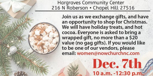 Now Women's Holiday Shop & Share