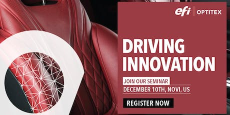 DRIVING INNOVATION: AUTOMOTIVE SEMINAR in NOVI, MICHIGAN, USA tickets