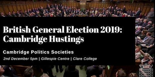 Election '19: Cambridge Hustings