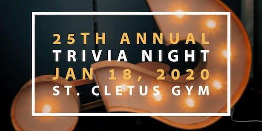 Saint Cletus Trivia Time!