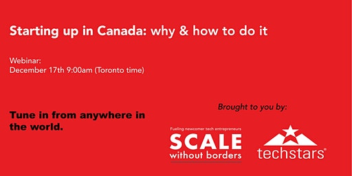 Starting up in Canada: why and how to do it