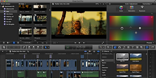 Cambridge - Video Editing for Beginners using Final Cut Pro