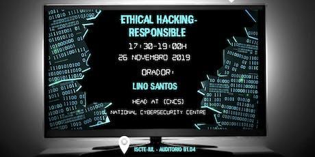 Ethical Hacking - Responsible Disclosure bilhetes