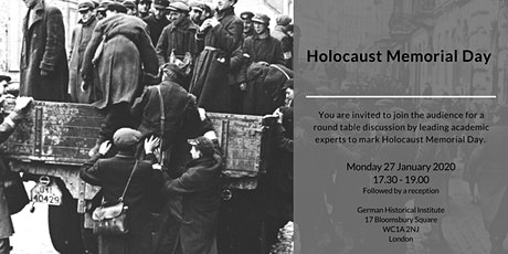 Round Table Discussion: Holocaust Memorial Day 2020 tickets