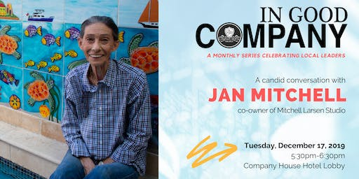 In Good Company with Jan Mitchell - December 2019