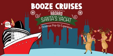 Booze Cruise aboard Santa's Yacht - A Christmas Pop-Up tickets