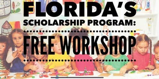 Free Parent Workshop - Scholarships for K-12 private schools