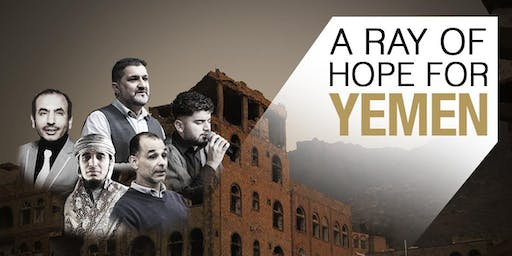 A RAY HOPE FOR YEMEN – CHARITY DINNER