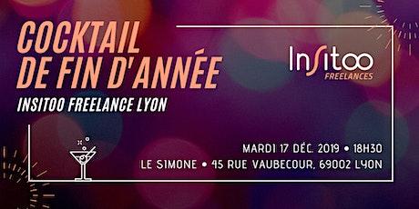 [Insitoo Freelances Lyon] Cocktail de fin d'année billets