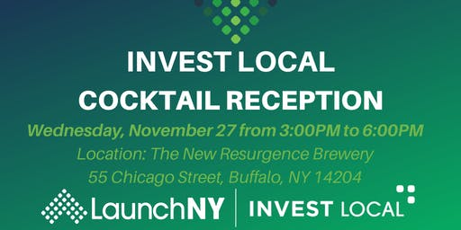 Invest Local Cocktail Reception