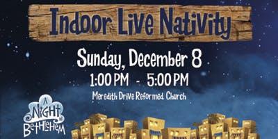 Indoor Live Nativity