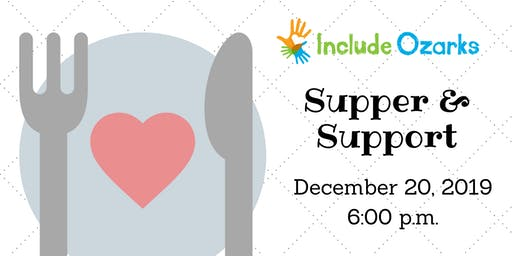 Supper and Support: December 2019