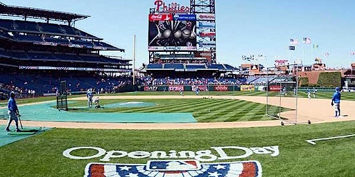 Networking at Phillies April 2nd OPENING DAY!