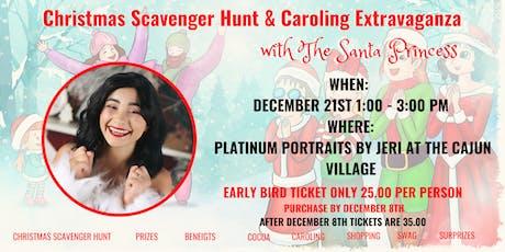 Christmas Scavenger Hunt and Caroling Extravaganza with The Santa Princess tickets