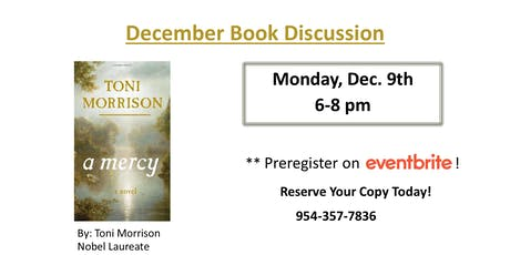 Book Discussion:  A Mercy by Toni Morrison tickets