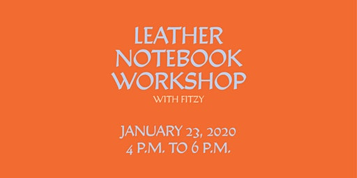Toronto Makes: Leather Notebook Workshop with Fitzy